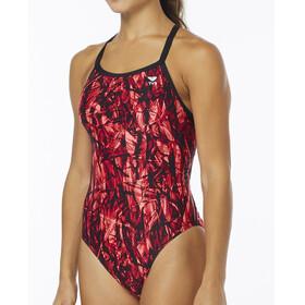 TYR Sagano Diamondfit - Bañador Mujer - rojo